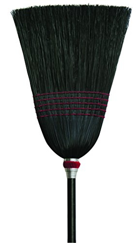 O'Cedar Commercial 6102-6 Parlor Black Corn Broom (Pack of 6) by O-Cedar Commercial