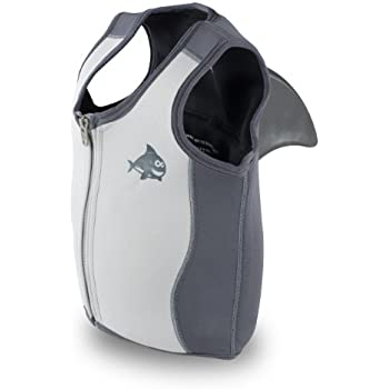 Swimways Sea Squirts White Shark Swim Assist Vest (Medium)