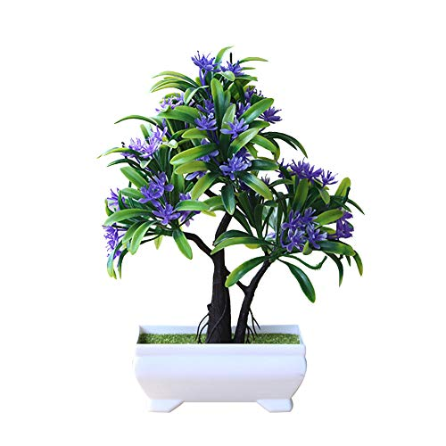heaven2017 Garden Decoration Artificial Bonsai Plant Tree Flower Ornament Home Decor ()