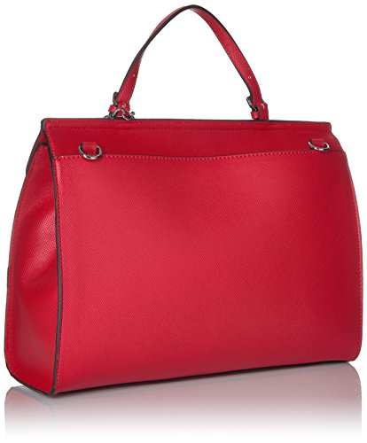 GUESS Huntley Saffiano Top Handle Flap, Cny Red by GUESS (Image #2)