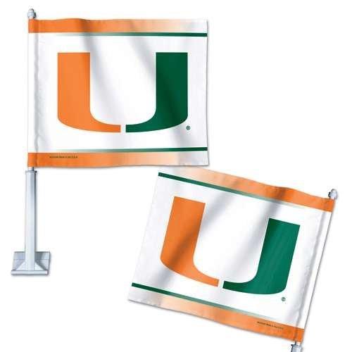 Miami Hurricanes Car Flag Wincraft