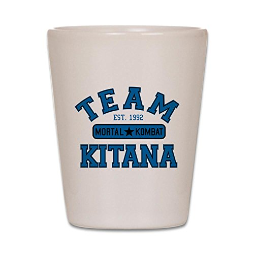[CafePress - Mortal Kombat - Shot Glass, Unique and Funny Shot Glass] (Kitana Mk)