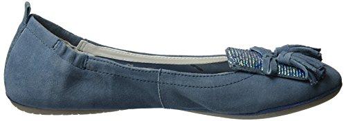 Bugatti Women's J06783g Ballet Flats Blue (Jeans 455) YzgIQvtO1