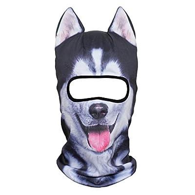 JIUSY Animal Ears Balaclava Face Mask Breathable Hood Outdoor Sports Motorcycle Cycling Ski Halloween Party