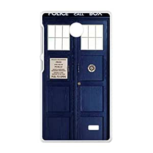 Police Box Fahionable And Popular High Quality Back Case Cover For Nokia Lumia X