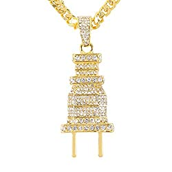 Gold Plated Egyptian Pendant & Chain