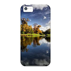SCA42527ICFu Cases Covers Castle Grounds Iphone 5c Protective Cases
