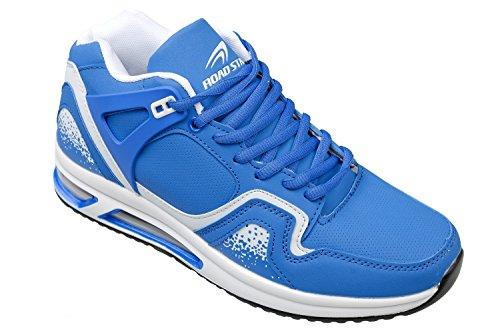 gibra - Zapatillas de running de Material Sintético para hombre Azul - azul