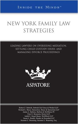 New York Family Law Strategies: Leading Lawyers on Overseeing Mediation, Settling Child Custody Issues, and Managing Divorce Proceedings (Inside the Minds)