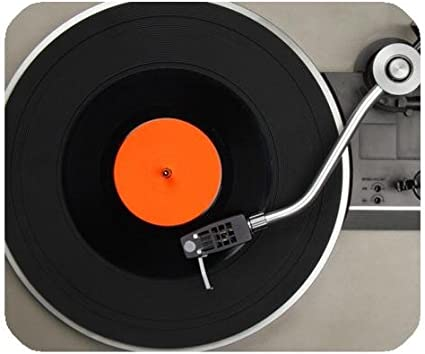 Vintage disco de vinilo Tocadiscos alfombrilla de ratón de juego ...