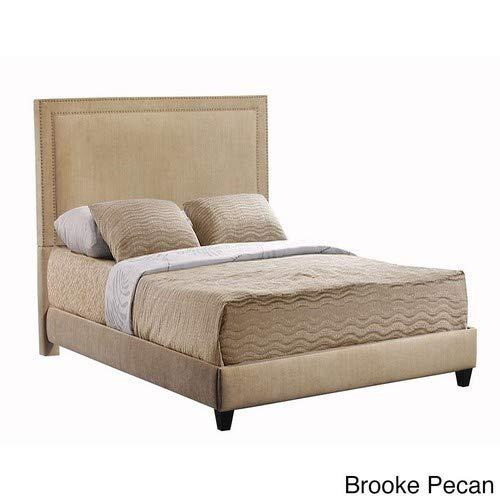 Leffler Home 17000-10-10-01 Brooke Pecan Brookside Bed Rails and Footboard, King, Chestnut Brown