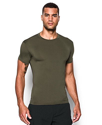 Men's Tactical HeatGear® Compression Shortsleeve T-Shirt Tops by Under Armour