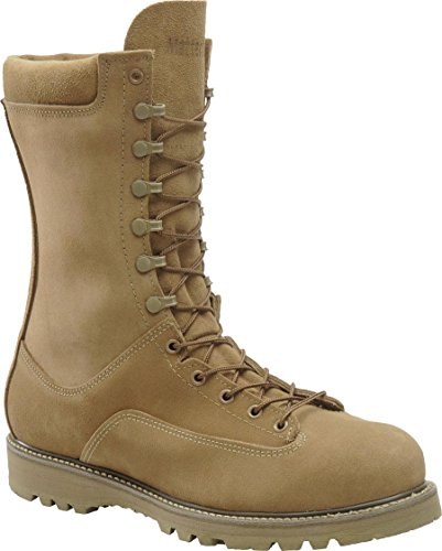 Men's Corcoran 10 inch Waterproof 400-gram Thinsulate Ultra Insulation Safety Toe Field Boots Olive, OLIVE, 8.5EEE