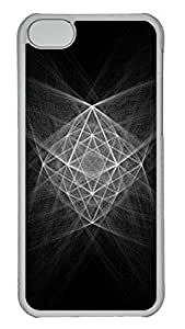 TYHH - iPhone 6 4.7 Case Abstract Structure Chalk Illustration PC iPhone 6 4.7 Case Cover Transparent ending phone case