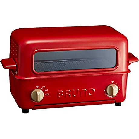BRUNO Toaster Grill BOE033 RD Red Japan Domestic Genuine Products