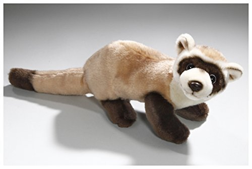 Carl Dick Ferret 9.5 inches, 15 inches with tail, 24/38cm, Plush Toy, Soft Toy, Stuffed Animal 2598 (Ferret Plush)