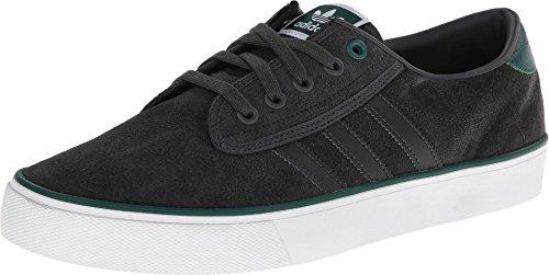 adidas Originals Men's Kiel ? Suede DGH Solid Grey/Core White/Solar green Sneaker 11 D (M)