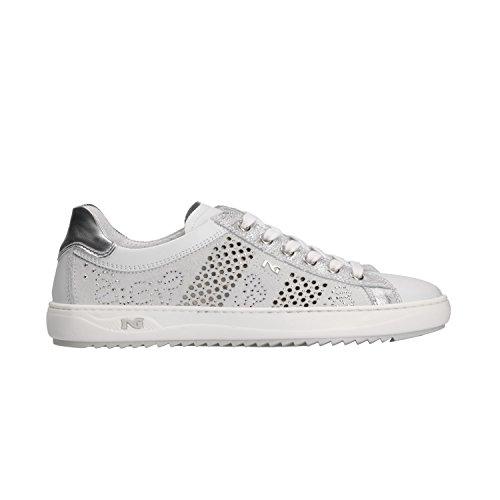 Sneakers Nero 5100 Donna Scarpe Giardini P805100d Bianco 5c5US8WAR