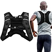 #LightningDeal Aduro Sport Weighted Vest Workout Equipment, 4lbs/6lbs/12lbs/20lbs/25lbs Body Weight Vest for Men, Women, Kids