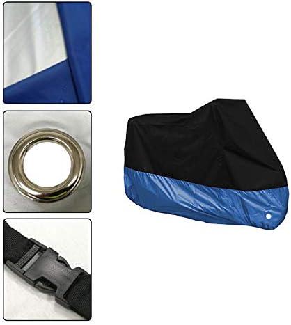 XL Pouybie Housse de Moto Imperm/éable Housses pour v/élo Polyester Scooter Moto /étanche Anti poussi/ère Couverture