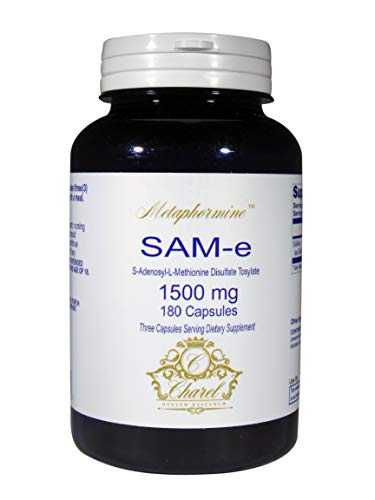 Cheap Advanced SAM-e Complete Supplement 1500mg (S-adenosyl-L-methionine) – Complete Joint Support, Anxiety and Stress Relief – Organic, Non-GMO, Gluten Free 180 Capsules (60 Day Supply)