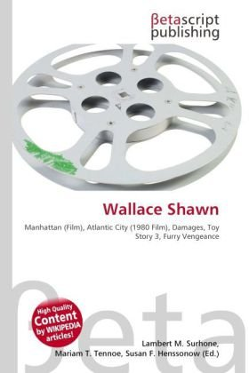 Wallace Shawn: Amazon.es: Surhone, Lambert M, Tennoe, Mariam T ...