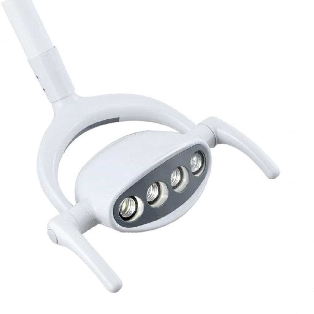 Denshine Dental LED Oral Cold Light Lamp for Dental Chair Unit Ceiling Type Oral Light,Shadowless, Cold Light, High Brightness LED Oral Lamp