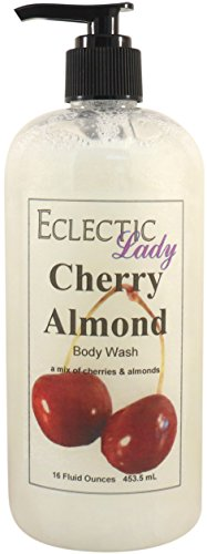 Cherry Almond Body Wash, 16 ounces