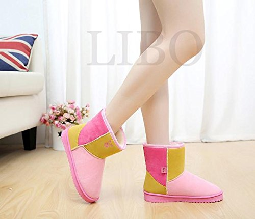 Fashion Women Girl Sweet colorfull Suede Winter Warm Snow Bo