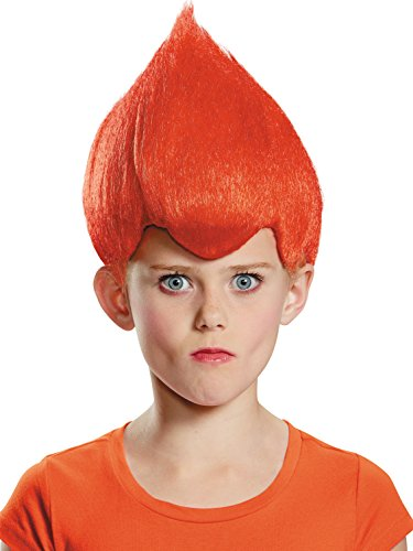 Red Wacky Child Wig, One Size Child -