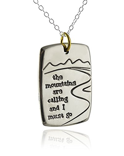 Mountains Calling Pendant Necklace Sterling product image