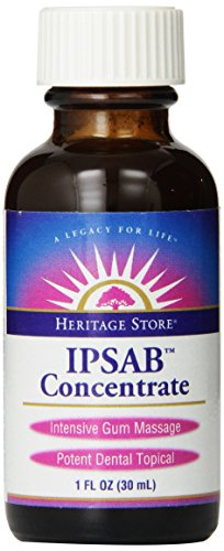 Heritage Store IPSAB Herbal Gum Treatment, 1 Ounce