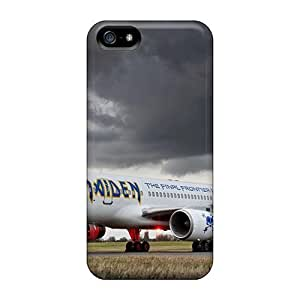 Defender Case With Nice Appearance (iron Maiden Ed Force One) For Iphone 5/5s