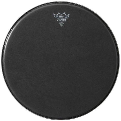 Remo Ambassador Black Suede Snare Side Drumhead, 14''