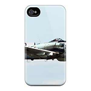 Mwaerke Case Cover For Iphone 4/4s - Retailer Packaging Sky Raider A War Bird With Purpose Protective Case