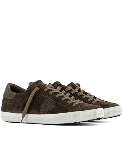 Clluxh05 Philippe Homme Model Suède Marron Baskets TaaOqUYw