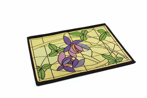 Rennie & Rose Collection Placemat, Flowers and Vines, Set of 4