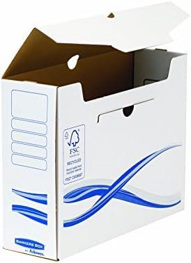 Fellowes, Caja de archivo definitivo, 100 mm, 25 unidades: Amazon.es: Oficina y papelería