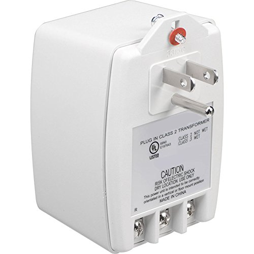 PWS-2440 24VAC 40VA Class II Power Supply AC Adapter UL 24V Transformer Plug with terminals ()