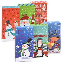 CHRISTMAS DECOR PACKAGE-GIFT CARD HOLDERS ASSORTED 6CT