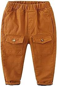 Mud Kingdom Little Boys Winter Pants Fleece Lined Elastic Waist