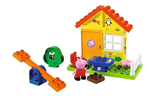 Peppa Pig Pig's Mini Tub Garden House Compatible with All Popular Building Bricks