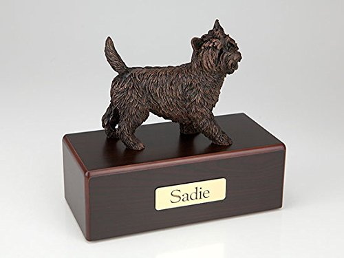 Ever My Pet Cairn Terrier Economy Bronze Series Dog Pet Urn by Ever My Pet