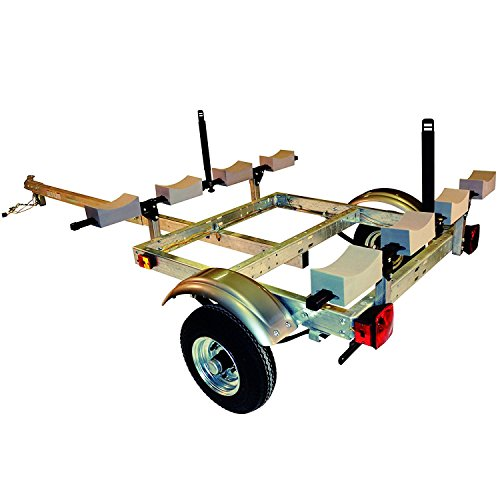 Malone XtraLight 4 Kayak Stacker Trailer Package (Best Kayak Trailer Designs)