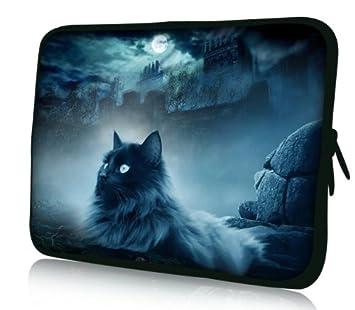 Luxburg Design Funda Blanda para Ordenador portátil (15,6 Pulgadas, Motivo: Gato y Roca: Amazon.es: Electrónica