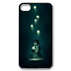 Stars Beautiful Pattern Hard Back Cell Phone Case for Iphone Case 4,4S TSL329287