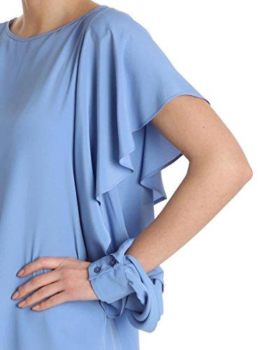 Pinko Femme 1B13364926G52 Bleu Claire Acétate Blouse