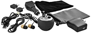 iPod Accessory, Ematic 11 in 1 iPod MP3 Accessory Kit with Wood Earbuds and Portable Speaker [ EI030 ]