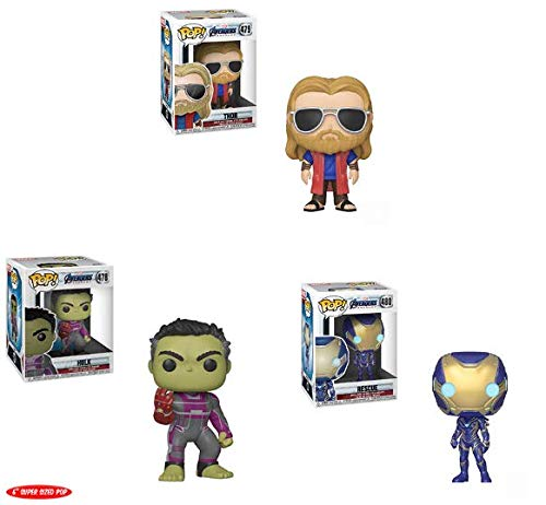 Amazon.com: Pop! Marvel: Vengadores: Endgame W2 – Thor, Hulk ...