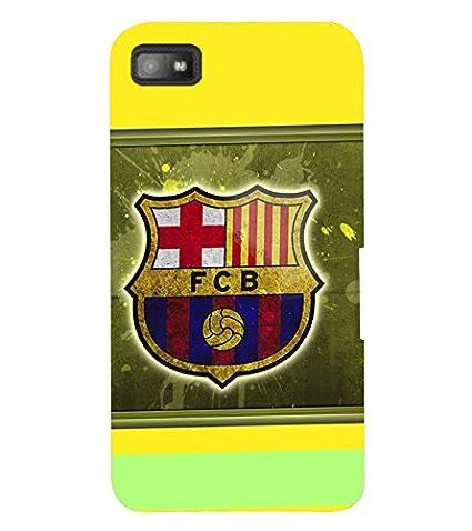best service d2ae1 c9c83 TOUCHNER (TN) Football Logo Back Case Cover for BlackBerry Z10: Buy ...
